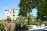 L'église de Goudargues