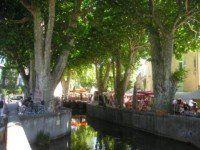 La canal de Goudargues
